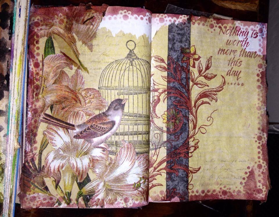 Altered Book Journeysrunaway Art Salem Oregon