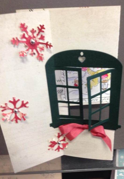 watercolor window and snowman cards with peggyrunaway art salem oregon. Black Bedroom Furniture Sets. Home Design Ideas