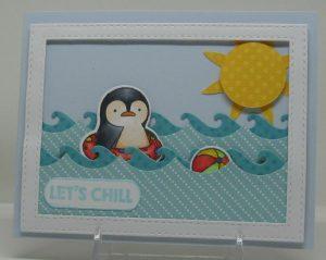 Damn Cute Chill Penguin May 2016