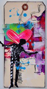 Dina Acrylic Tag 2