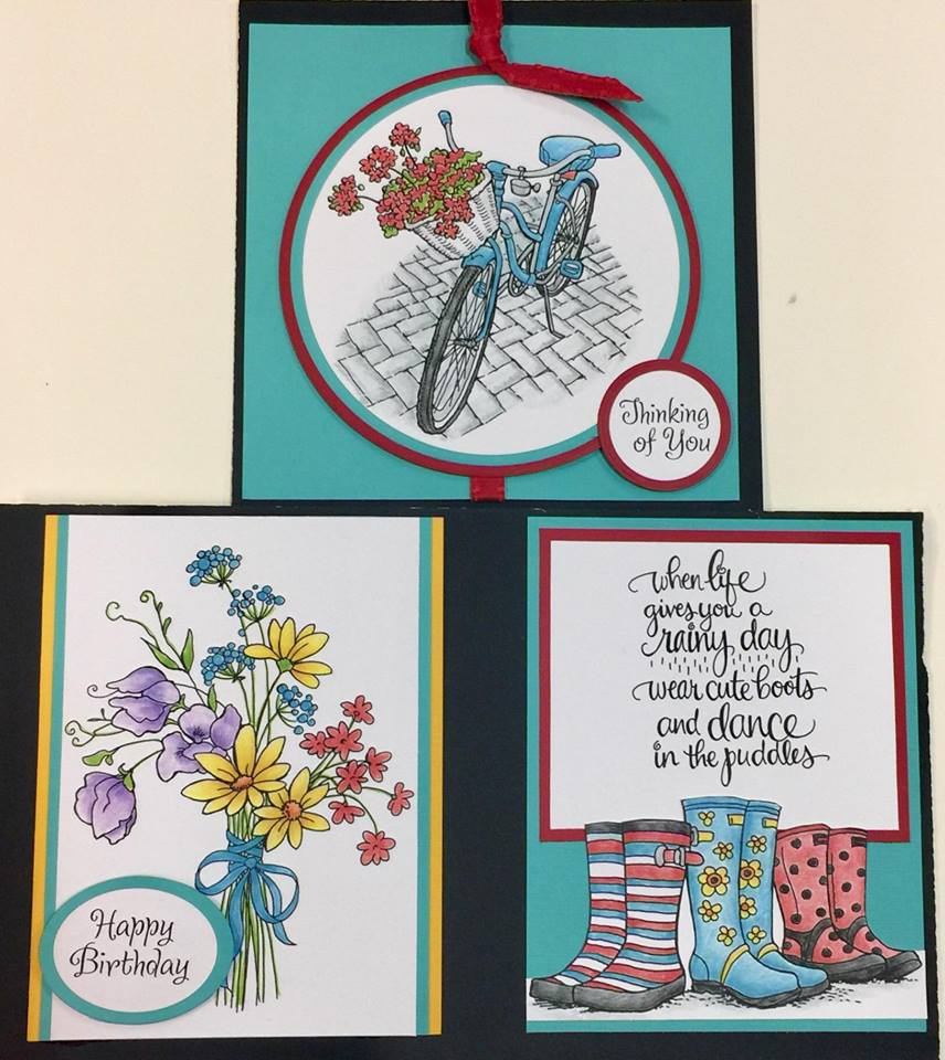 Spring Cards with ChristyRunaway Art - Salem, Oregon