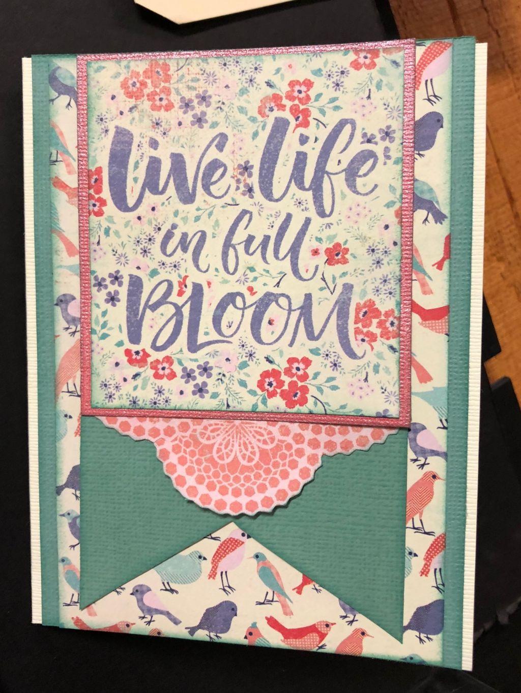 authentique spring cards with yvonnerunaway art salem oregon. Black Bedroom Furniture Sets. Home Design Ideas