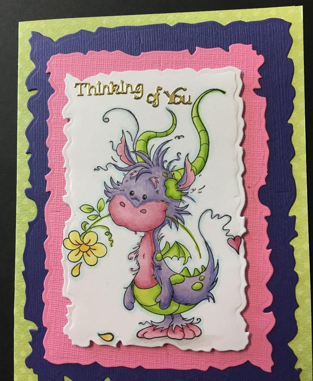"""cardmaking with teresa — """"freddie & halloween""""runaway art - salem"""