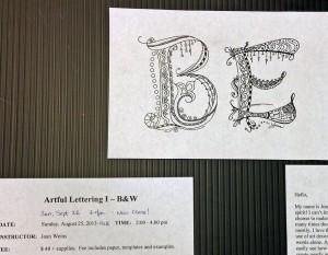 Artful Lettering