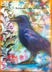 Crow with Highlights Christy