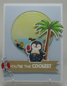 Damn Cute Coolest Penguin May