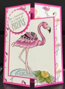 Dang Cute Flamingo